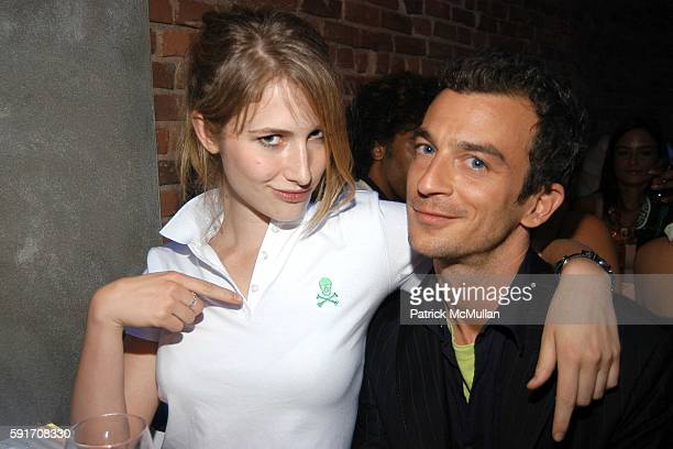 Aryka Noble and Alex Lasky attend Jessica White's 21st Birthday Party Hosted by Jamison Ernest of Yellow Fever at Pizza Bar on June 22 2005 in New...