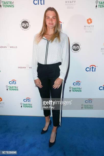 Aryna Sabalenka attends the Citi Taste of Tennis at Hyatt Regency Indian Wells Resort Spa on March 5 2018 in Indian Wells California