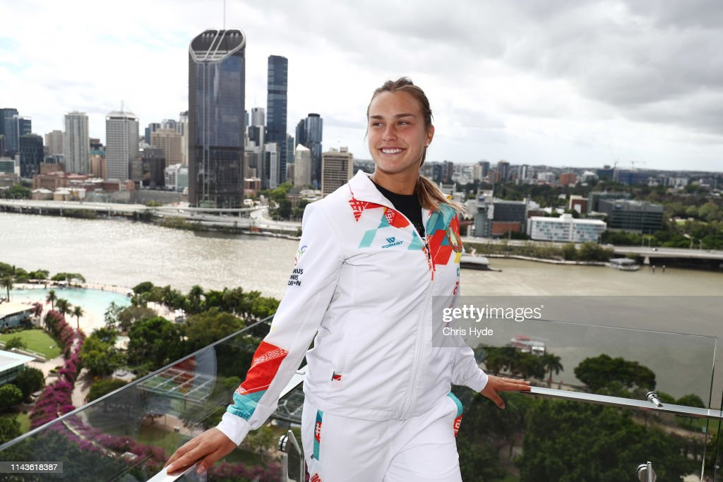Fed Cup World Group Semi Final - Australia v Belarus: Media Opportunity : Foto jornalística