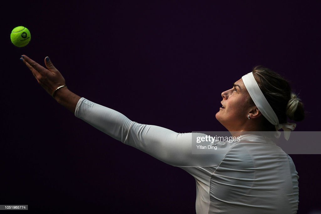 2018 WTA Tianjin Open - Day Five : News Photo