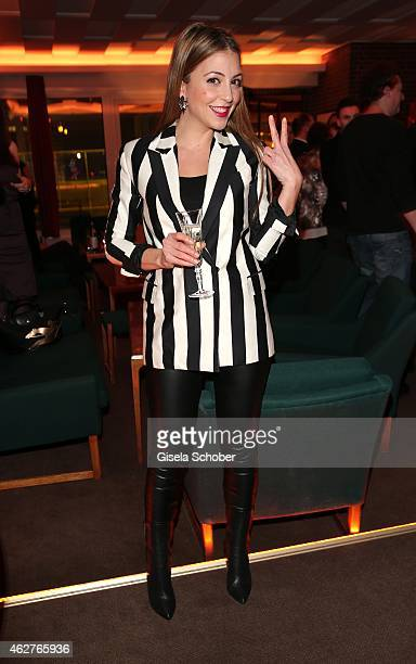 Arzu Bazman during the birthday celebration of Maren Gilzer's 55th birthday on February 4 2015 in Berlin Germany Welcome Home Show at 15th of...