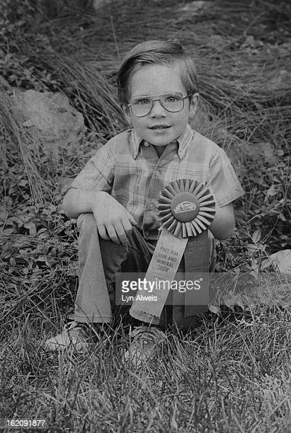 JUL 21 1977 JUL 31 1977 As a pebble pup Eric Krug took three ribbons for minerals found on camping trips