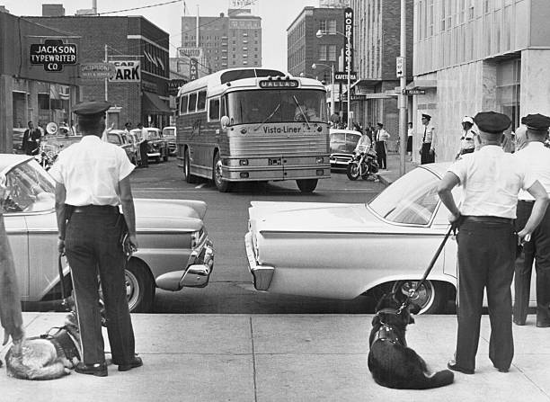 LA: 4th May 1961 - 'Freedom Riders' Set Off To Challenge Segregation On Buses