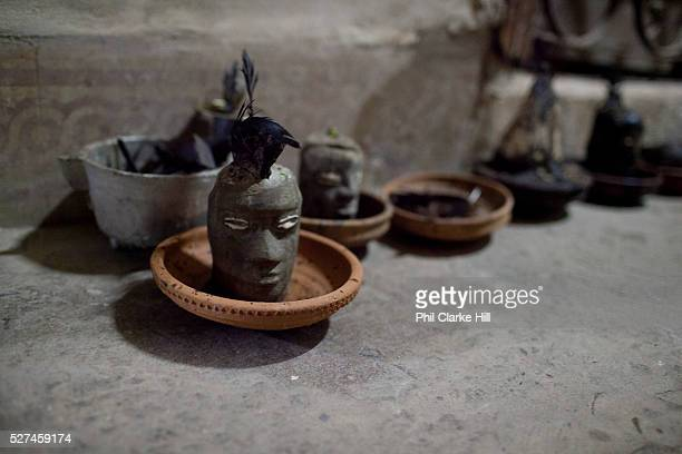 As adherants of Santeria receive their initiations for the different Orisha they get a physical representation of the 'saint' Santeria is a syncretic...