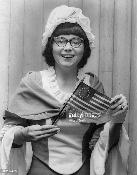 FEB 9 1976 FEB 11 1976 FEB 15 1976 DEC 28 1976 DEC 29 1976 As Betsy Ross she discusses the first official flag of United States made in 1776
