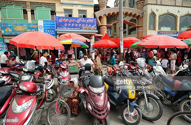 As China's economy grows in its remote far northwest the perennial popularity of the donkey cart is gradually replaced by the affordability of...