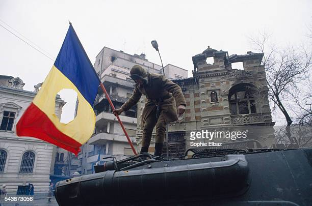 As demonstrations spread to Bucharest, troops side with demonstrators while Nicolae Ceausescu and his wife flee, only to be captured, tried,...