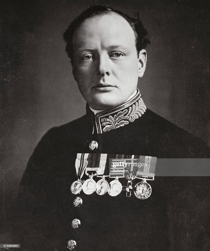 As First Lord Of The Admiralty In World War I, Churchill Mobilized The  British Grand