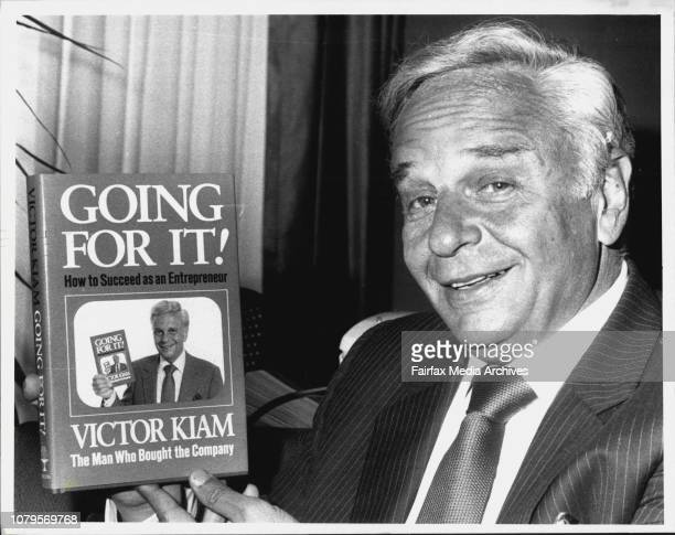 As he dollar teetered round the 60 cent mark that successful American enterpreneur Victor Kiam left Australia with this parting serve 'People compain...