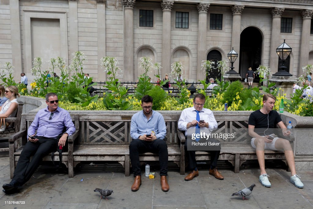 Heatwave In The City Of London : News Photo