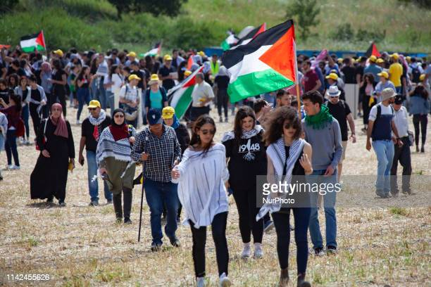 As Israeli Jews celebrated Independence Day on Thursday 9 May thousands of Palestinian citizens of Israel participated in the annual March of Return...