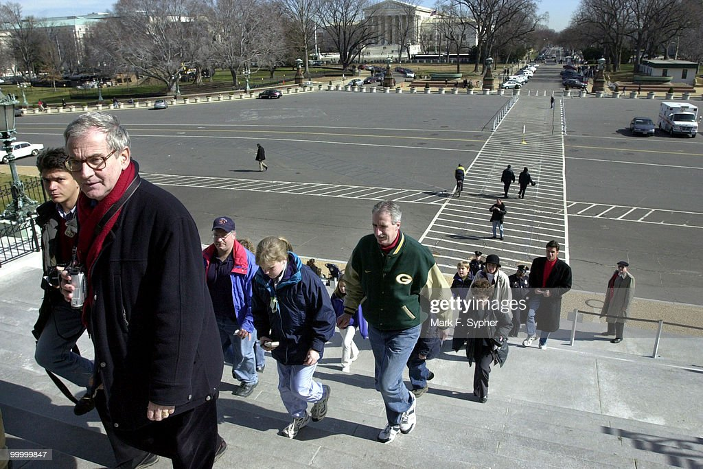 As old man winter yields to another spring in Washington, tour groups begin to increase in number at the U.S. Capitol and other popular tourist landmarks in Washington D. C..