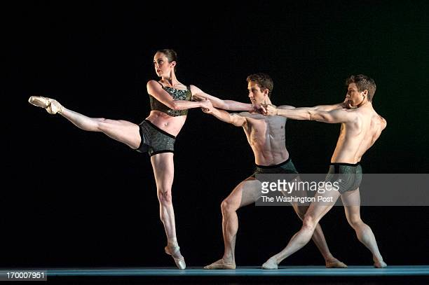 As part of Ballet Across America III at the Kennedy Center Oregon Ballet Theatre performs Almost Mozart Trio IIIIII with Alison Roper Brian Simcoe...
