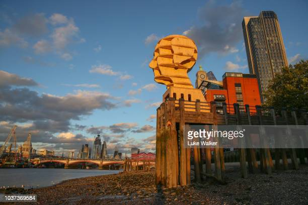 As part of the London Design Festival and design junction British designer Steuart Padwick makes a dramatic change to the London skyline in support...