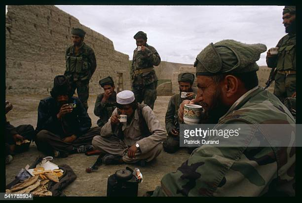 As part of their war against the Soviet forces invading Afghanistan the Mujahidin antiCommunist troops trained and supplied by the USA Saudi Arabia...
