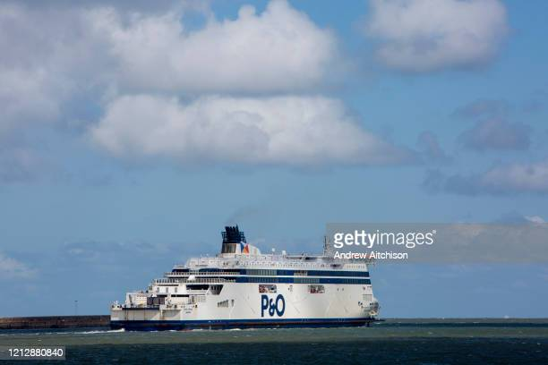 As PO Ferries announce 1100 UK job losses after taking advantage of the government's furlough scheme due to the COVID 19 outbreak a PO ferry in the...
