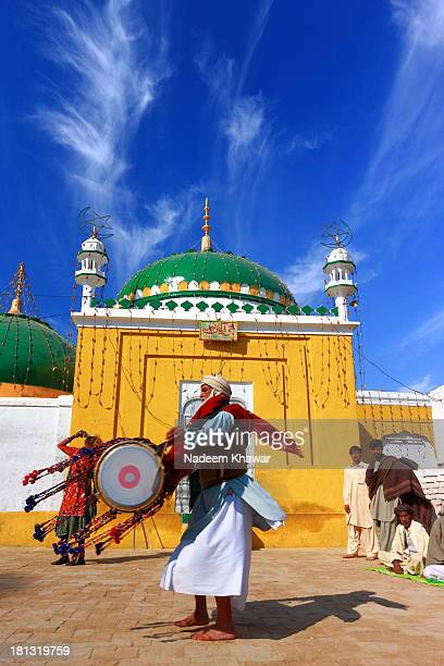 CONTENT] As Punjab rural traditions Drums are beaten on the festivals of sufi shrines and there devotees perform DhamalSuch festivals are held in the...