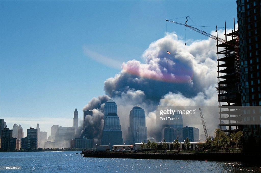 September 11 World Trade Center Attacks : News Photo