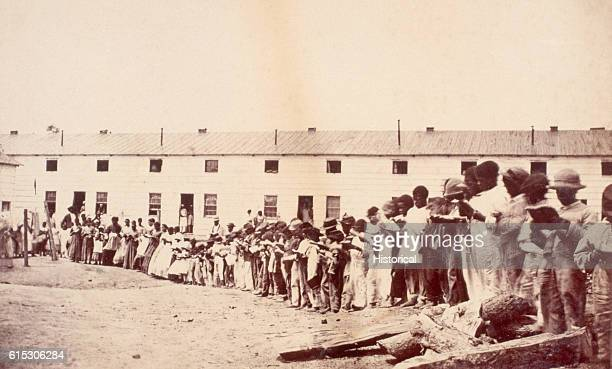 As slaves were freed after the Emancipation Proclamation the United States government established Freedmen's Villages to house clothe and educate...
