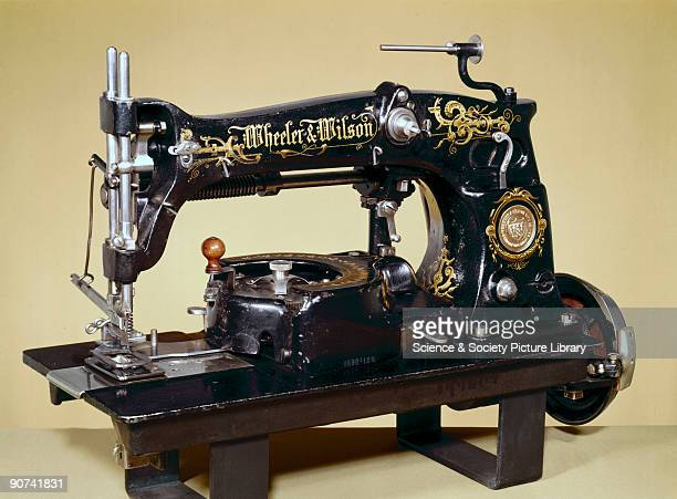 As soon as the problems of ordinary sewing had been solved machines were devised for special purposes To sew a buttonhole automatically the machine...