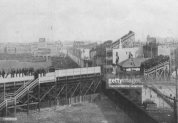 CHICAGO OCTOBER 1907 As the 1907 World Series is well underway we see from the left field corner a jam packed West Side Grounds in Chicago where the...