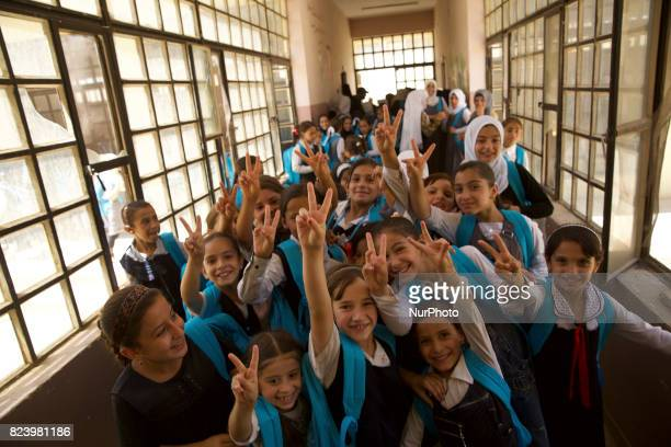 As the fighting is coming to an end West Mosul is slowly coming back to life Schools in the south western part has been open since beginning of July...