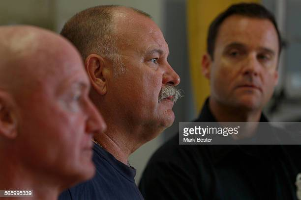 As the first reponders Orange County Fire Authority Engineer Ed Hooper Captain Alan Ladd and Paramedic Scott Belshe think back on the emotions the...