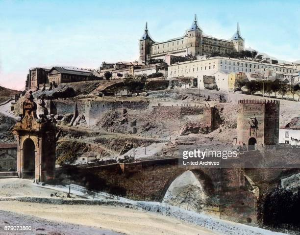As the flags were hoisted on the Christian Alcazar of Toledo the Moors had suffered a very severe blow Toledo has now for a long time the capital of...