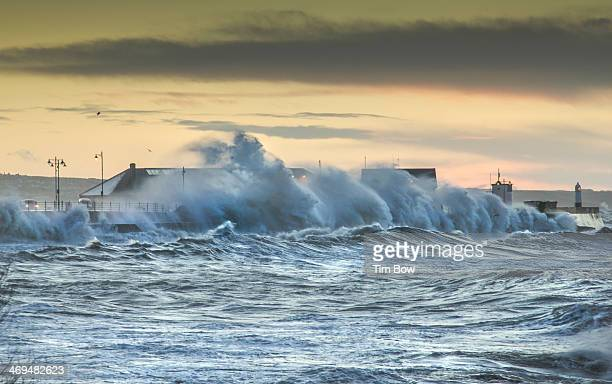 CONTENT] As the highest tide in decades strikes the UK coinciding with large storm swell the small coastal town of Porthcawl receives another...