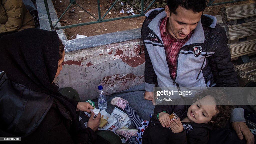 Europe Migrant Crisis - Athens : News Photo
