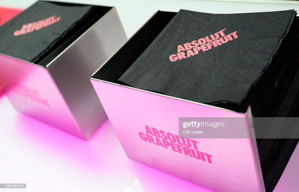 CA: Absolut Grapefruit Celebrated With The Stars Backstage At The 61st GRAMMY Awards