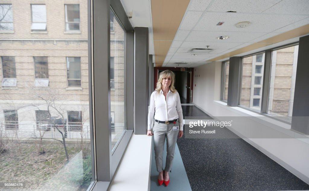 Toronto On May 2 As The Social Worker Illana Perlman At News