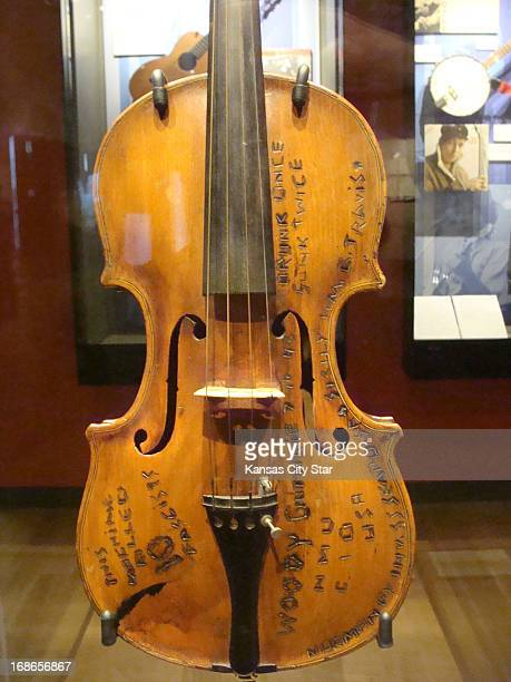 As the story goes a fiddle once owned by Woody Guthrie survived two encounters with German torpedoes when Guthrie was serving on Merchant Marine...