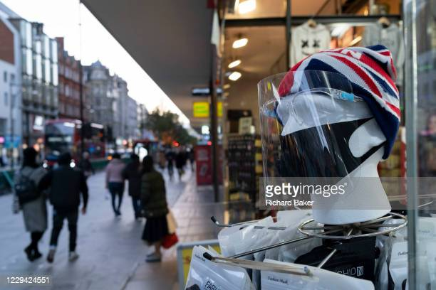 As the UK reacts to Prime Minister Boris Johnson's announcement of Lockdown 2 during the second wave of the Coronavirus pandemic, face shields and...