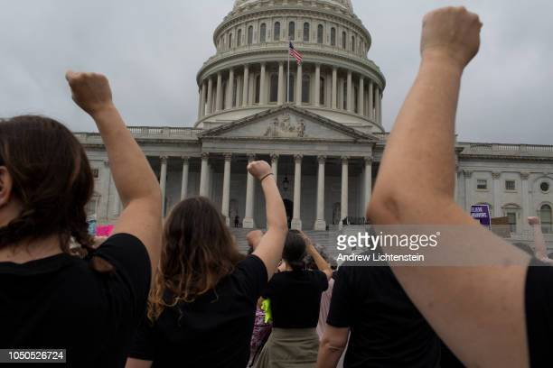 As the United States Senate prepares to vote to confirm Judge Brett Kavanaugh's nomination to the Supreme Court citizens opposed to his nomination...