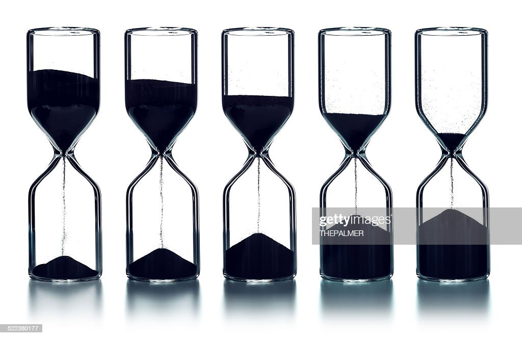 As times goes by sequence : Stock Photo