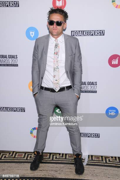 As world leaders gather in New York for the UN General Assembly Casey Neistat attends The Goalkeepers Global Goals Awards hosted by UN Deputy...