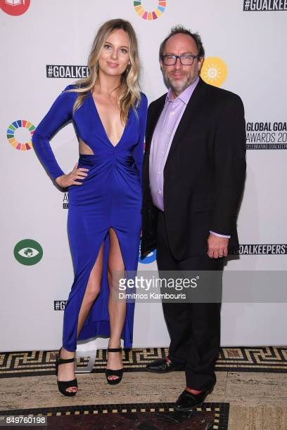As world leaders gather in New York for the UN General Assembly MJ Delaney attends The Goalkeepers Global Goals Awards hosted by UN Deputy...