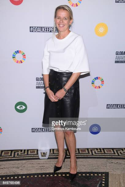 As world leaders gather in New York for the UN General Assembly Princess Mabel of OrangeNassau attends The Goalkeepers Global Goals Awards hosted by...