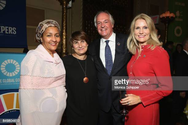 As world leaders gather in New York for the UN General Assembly UN Deputy SecretaryGeneral Amina J Mohammed Paul Polman Save the Children CEO Helle...