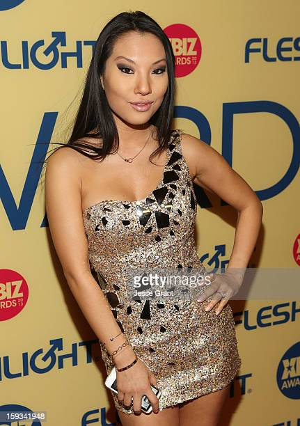 Asa Akira attends the 2013 XBIZ Awards at the Hyatt Regency Century Plaza on January 11, 2013 in Los Angeles, California.