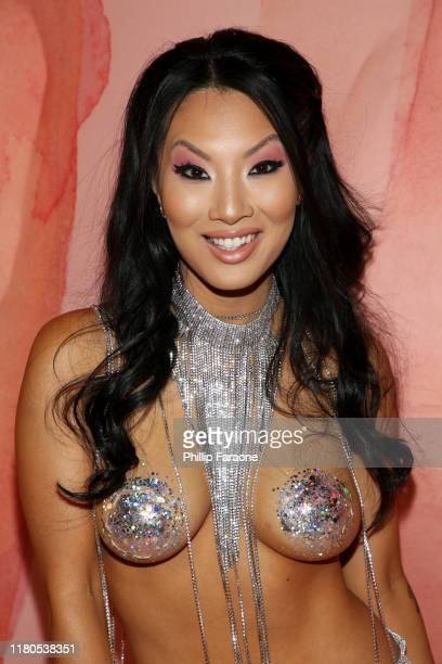 Asa Akira attends the 2nd Annual Porn Hub Awards at Orpheum Theatre on October 11 2019 in Los Angeles California
