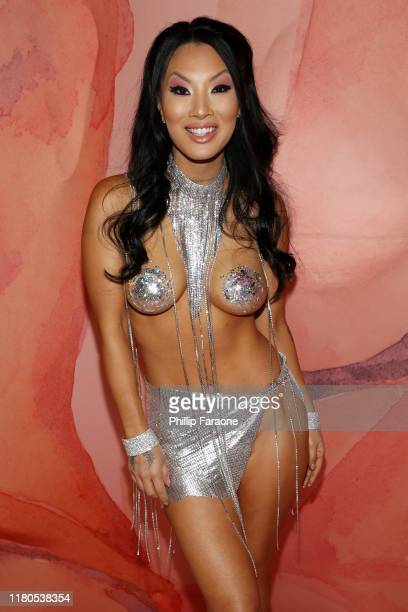 Asa Akira attends the 2nd Annual Porn Hub Awards at Orpheum Theatre on October 11, 2019 in Los Angeles, California.