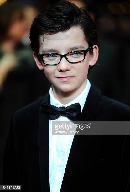 Asa Butterfield attends a Royal film performance of Hugo in 3D on November 28 2011 at The Odeon Cinema Leicester Square in London