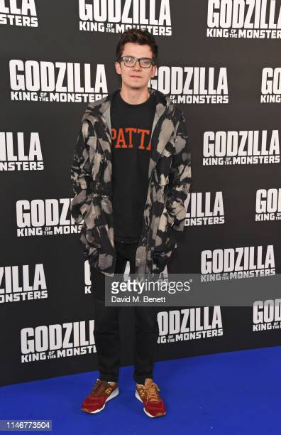 Asa Butterfield attends a special screening of Godzilla II King Of The Monsters at Cineworld Leicester Square on May 28 2019 in London England