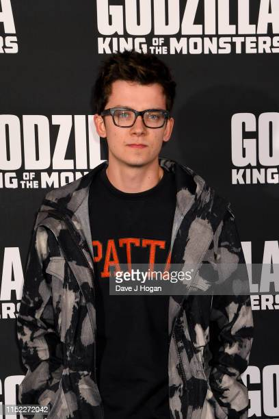 Asa Butterfield attends GODZILLA II King of the Monsters at Cineworld Leicester Square on May 28 2019 in London England