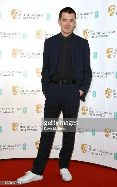 Asa Butterfield attends the BAFTA Film Awards Nominations Announcement 2020 photcall at BAFTA on January 7 2020 in London England