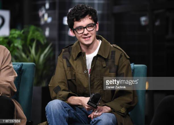 Asa Butterfield attends the Build Series to discuss the Netflix show Sex Education at Build Studio on November 12 2019 in New York City