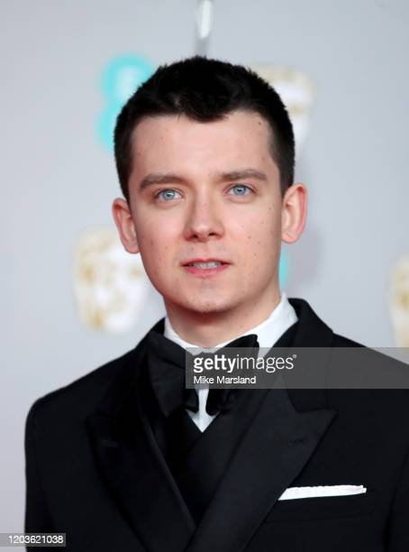 Asa Butterfield attends the EE British Academy Film Awards 2020 at Royal Albert Hall on February 02 2020 in London England