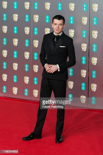 Asa Butterfield attends the EE British Academy Film Awards ceremony at the Royal Albert Hall on 02 February 2020 in London England PHOTOGRAPH BY...